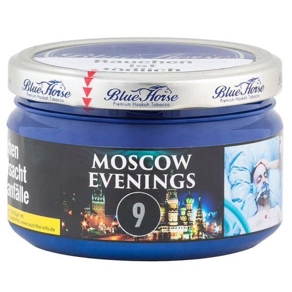 Blue Horse Tabak 200g - #9 - Moscow Evenings