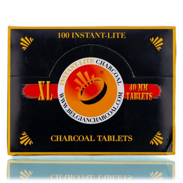 Instant Lite Kohle - 40 mm - 100er Pack