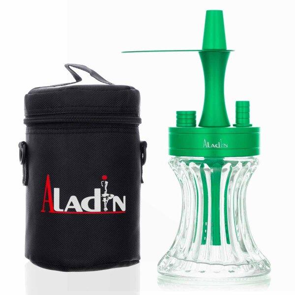 Aladin 2 Go - Alu mit Tasche - Grün