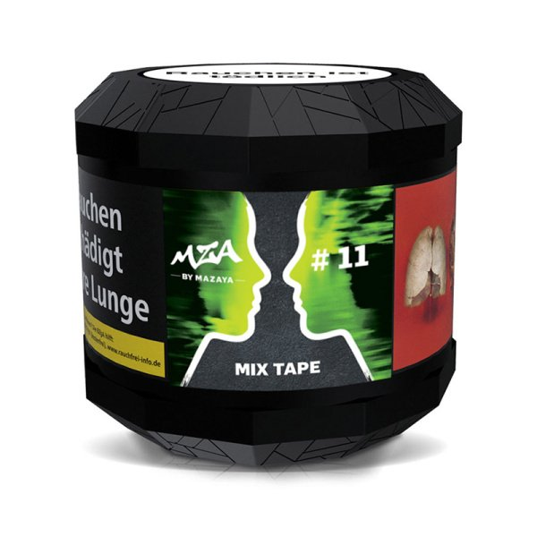 MZA Tobacco 200g - Mix Tape with 5ml Mint Booster