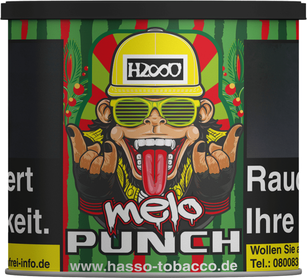 Hasso Tabak 200g - Melo Punch