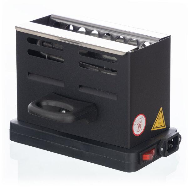 Hookah complete set with Aladin hookah MVP 470 - Cube Clear