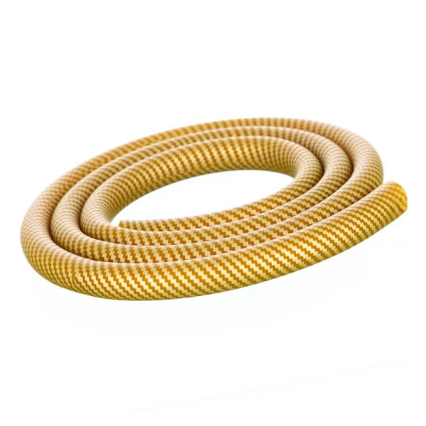 Shisha Silikonschlauch - Carbon Gold