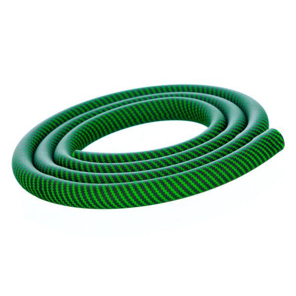 Shisha Silikonschlauch - Carbon Grün
