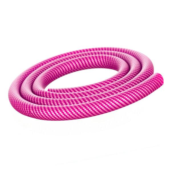 Shisha Silikonschlauch - Carbon Pink