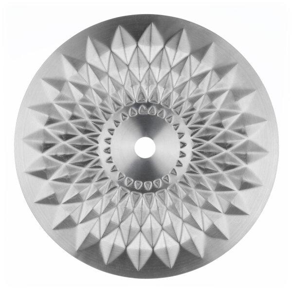 Aladin Shisha Edelstahlkohleteller mit Muster 21cm