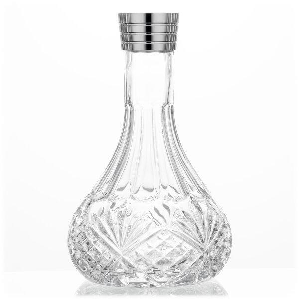 Aladin Shisha MVP 470 Ersatzglas - Flower Clear