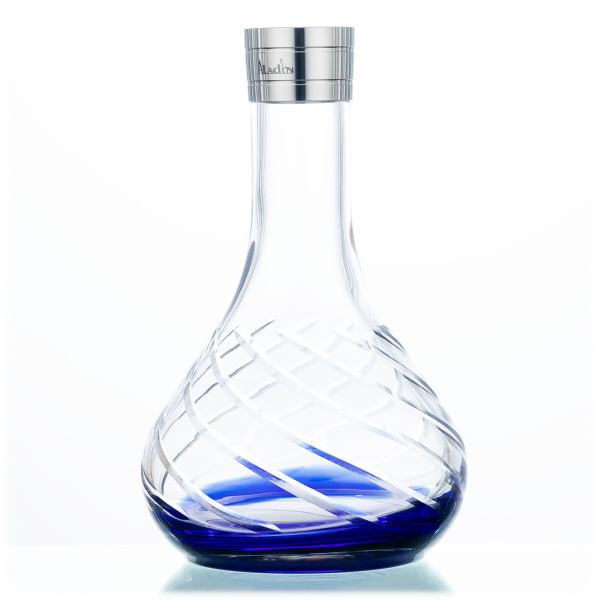 Aladin Shisha MVP 480 Ersatzglas - Blue Bottom