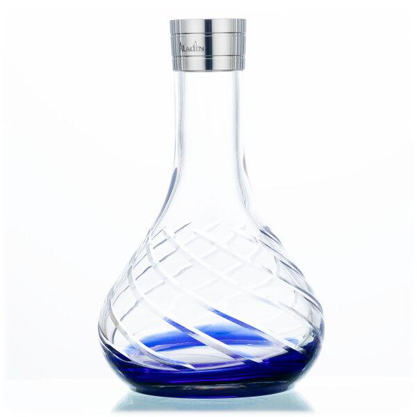 Aladin Hookah MVP 480 Spare Glass - Blue Bottom