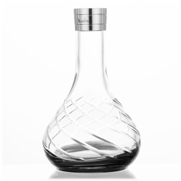 Aladin Shisha MVP 480 Ersatzglas - Black Bottom