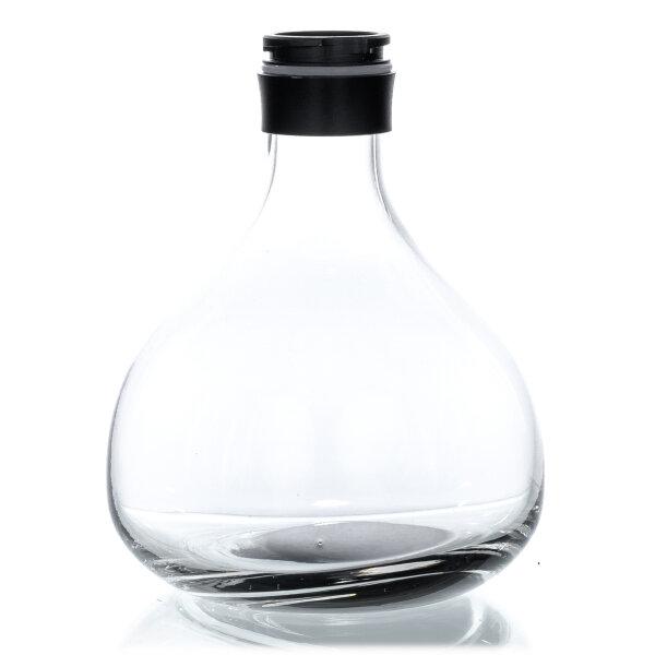 Aladin Shisha Alux - M1 - Ersatzglas - Schwarz