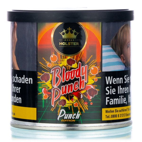Holster Tobacco 200g - Bloody Punch